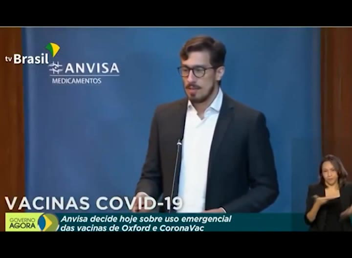 Brasil aprueba uso de vacunas contra COVID-19 de china Sinovac y de AstraZeneca