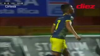 Guadalupe sorprende y golea 3-0 al Alajuelense de Alex López en Costa Rica