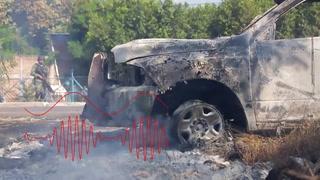 Audios revelan angustiantes momentos de policías asesinados en México