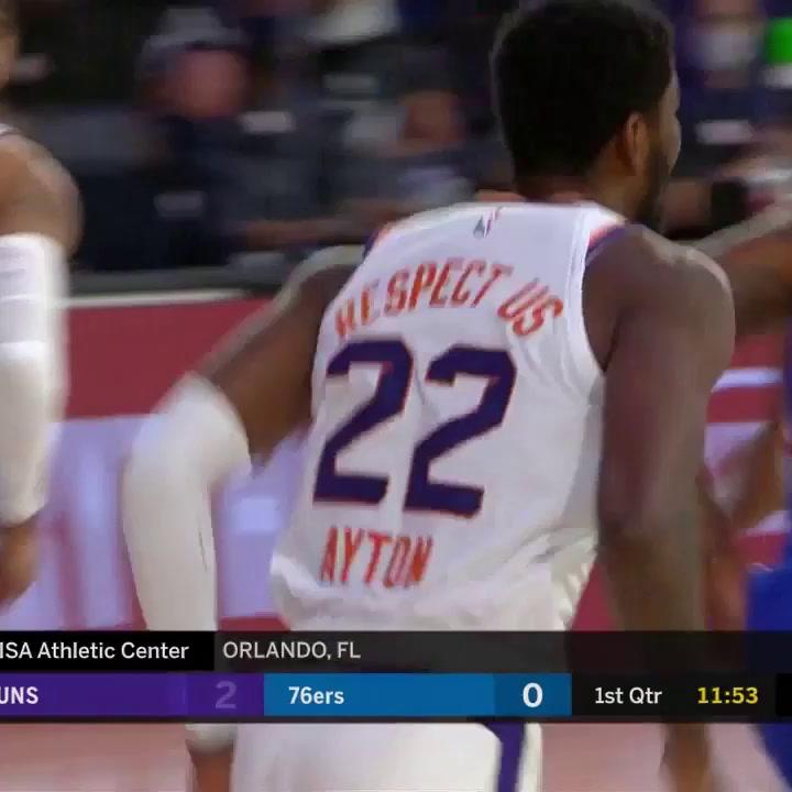 Ricky Rubio (Suns) sumó 16 puntos ante Philadelphia