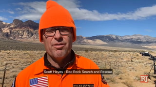 Search for missing hiker at Red Rock Canyon – Video
