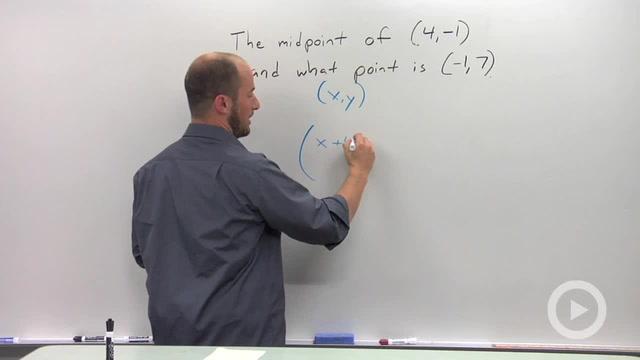 Midpoint Formula - Problem 2