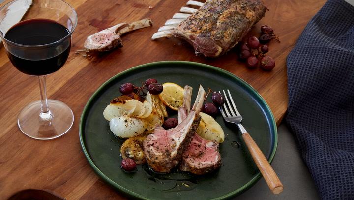A Perfect Match: Roast Lamb with a Rhône Red