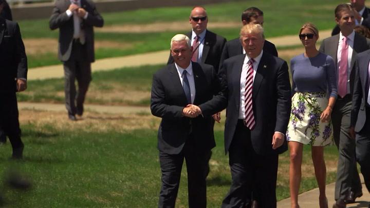 Inside Donald Trump's Return To Cleveland