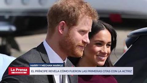 Harry y Meghan Markle: El príncipe revela cómo fueron las primeras citas con la actriz