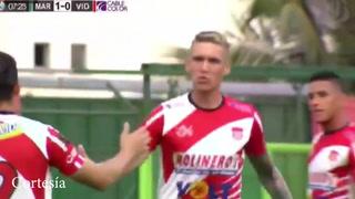 Mathias Techera anotó para el vida en el juego ante el Marathón
