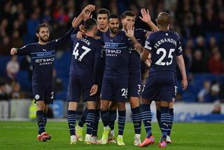 Manchester City golea al Brighton y escolta al líder Chelsea en la Premier League