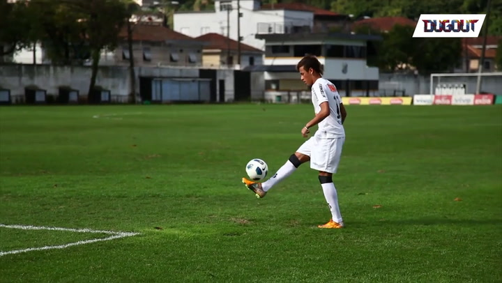 Neymar Features In Classic Set Of Skills