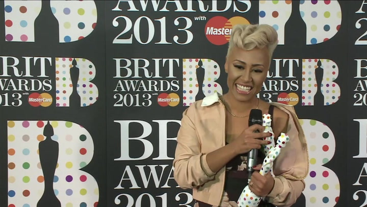 """BRIT Awards Winner Emeli Sandé Is """"Very Free and Ready To Party"""""""