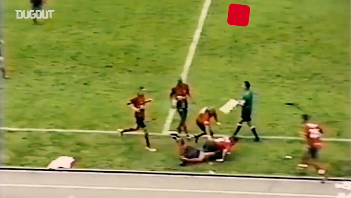 Choronta Restrepo's long range strike vs Deportivo Pereira
