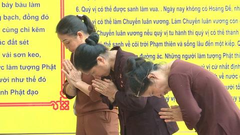 Budistas celebran el Vesak en Vietnam