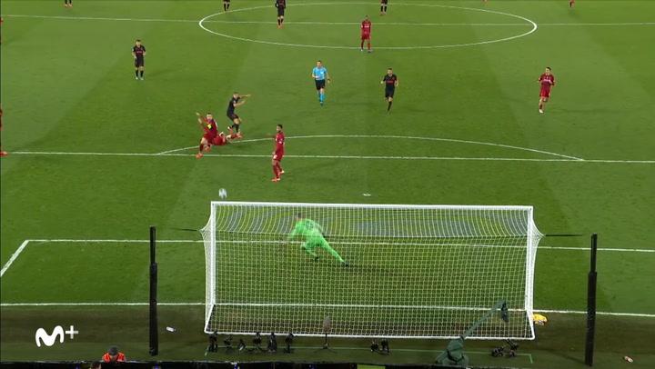 Champions League: Liverpool - Atlético Madrid. Gol de Marcos Llorente (2-2)