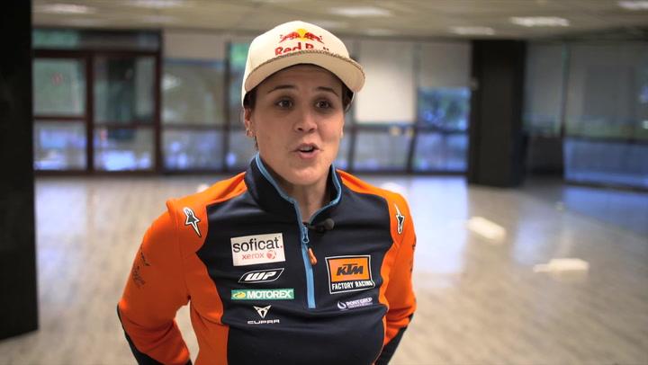 Laia Sanz valora el Dakar 2020 en Arabia Saudí