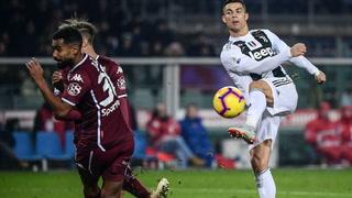 Juventus venció 1-0 al Torino con gol de Cristiano Ronaldo
