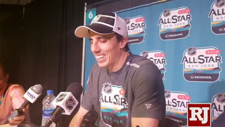 Fleury at NHL All-Star game (pokecheck)