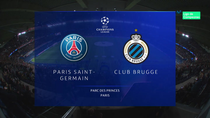 Champions League: Resumen y Goles del PSG - Brujas