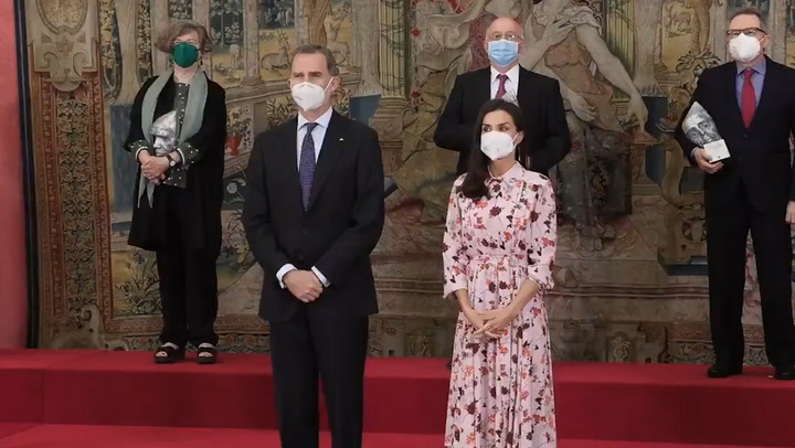 Los Reyes entregan los Premios Nacionales de Investigación