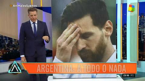 El pálpito de Fantino sobre el partido decisivo entre Argentina y Nigeria