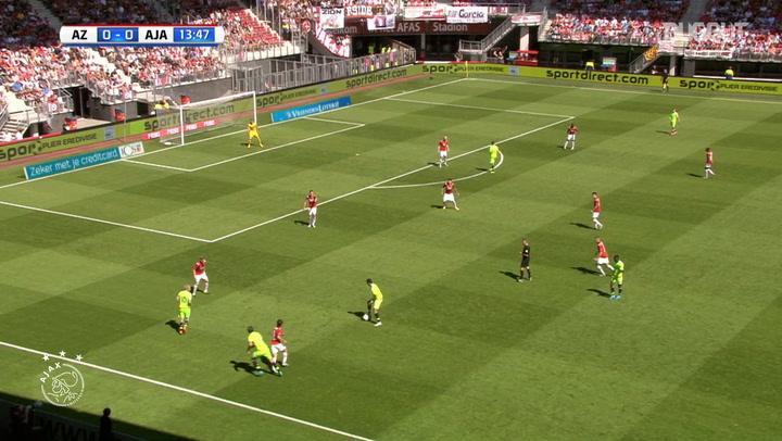 Anwar El Ghazi's long-distance stunner vs AZ Alkmaar
