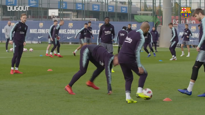 Barça Prepare Ahead Of Cultural Leonesa