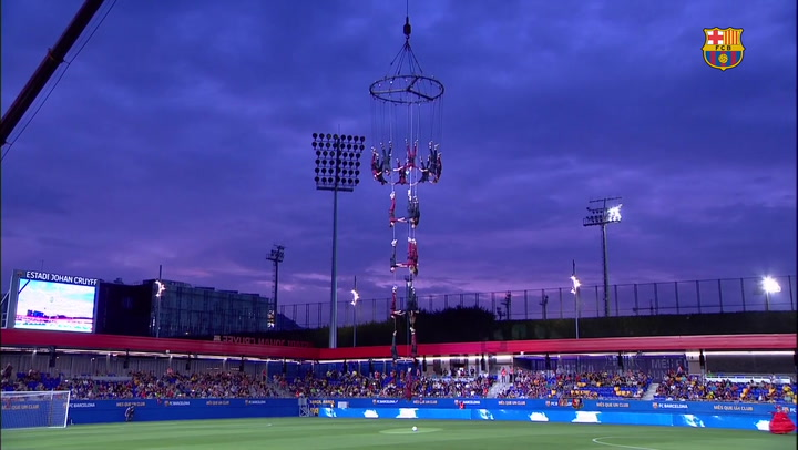 La emotiva inauguración del estadio Johan Cruyff