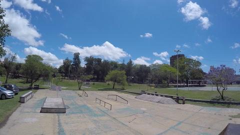 Así están hoy las rampas del skatepark en el Parque Sur de Santa Fe