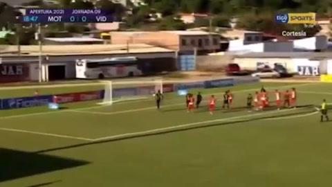 Motagua 1-0 Vida (Liga Nacional)
