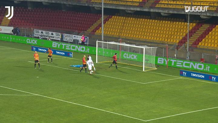 Morata's goal against Benevento