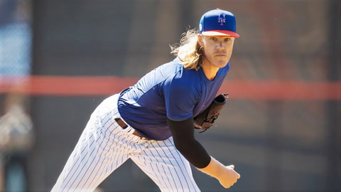 How will Noah Syndergaard's velocity be affected when he returns?