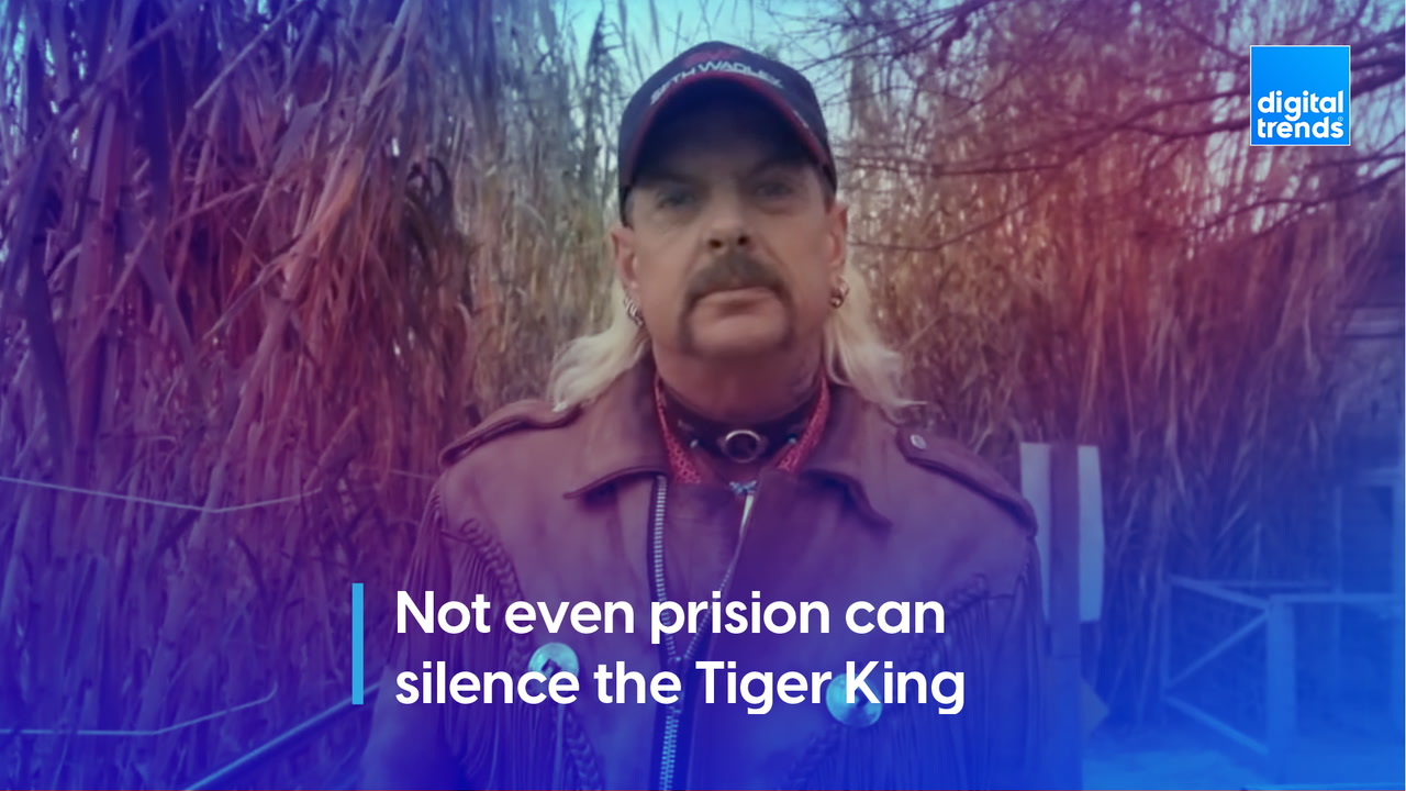 Not even prison can silence the Tiger King