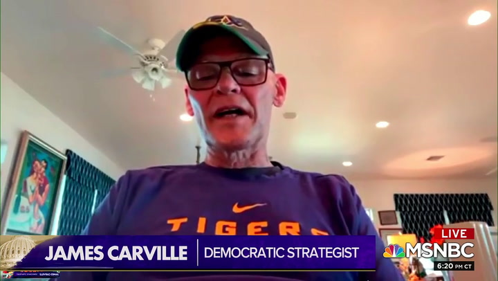 Carville on Trump: 'The American People Are Turning on Him by the Day'