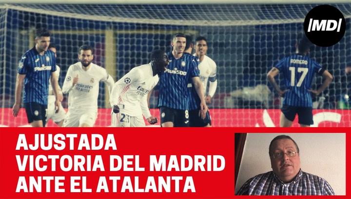 Analizamos la victoria muy ajustada del Madrid ante el Atalanta