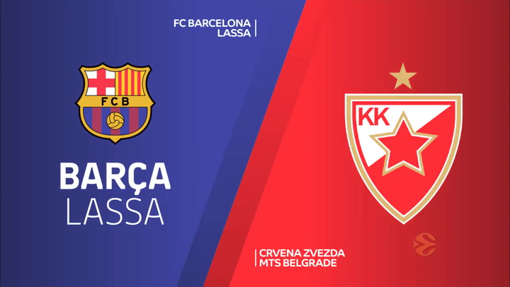 Euroliga: FC Barcelona - Estrella Roja de Belgrado