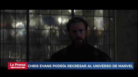 Chris Evans podría regresar al universo de Marvel