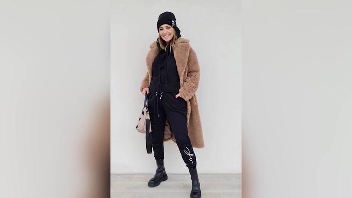 El look más invernal de Paula Echevarría