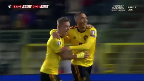 Bélgica 3 -1 Rusia