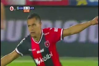El golazo de tiro libre de Roger Rojas ante la Universidad de Costa Rica