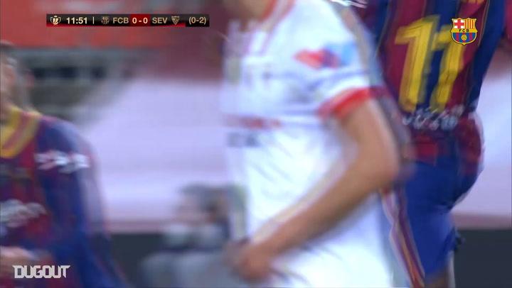 Ousmane Dembele's sensational strike vs Sevilla