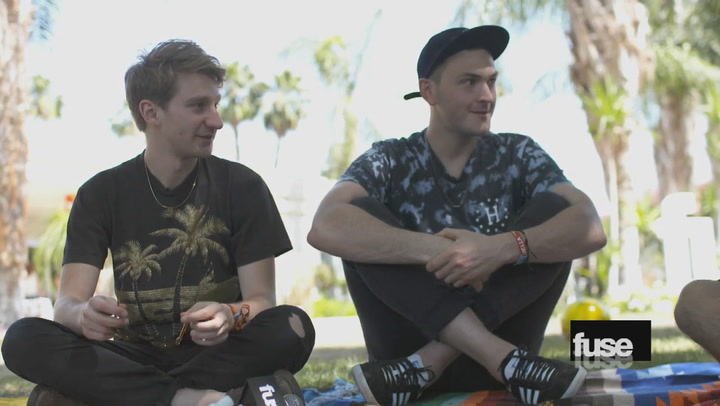 Coachella 2015: Glass Animals Talk To Erik Rivera