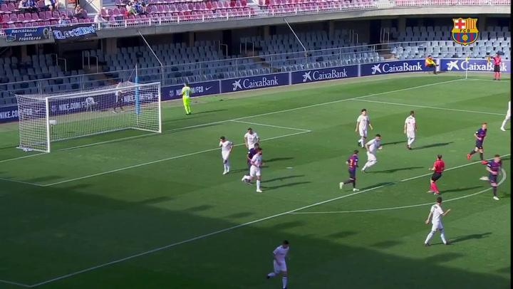 Barça B-Hércules, de Segunda División B