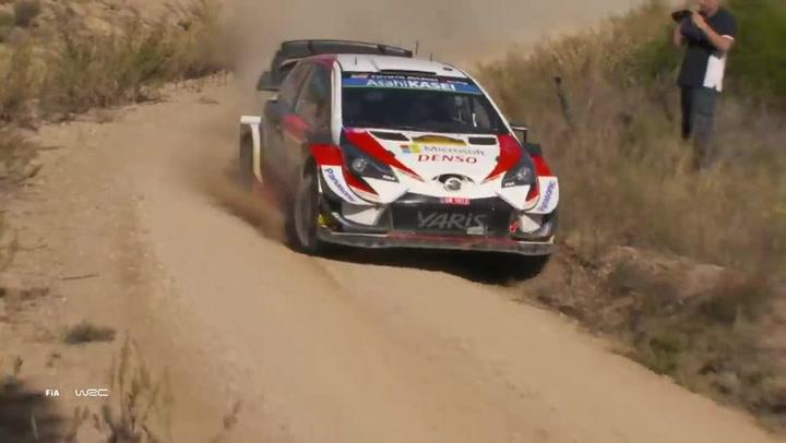 Rally de España 2019 Resumen de las secciones 1-3