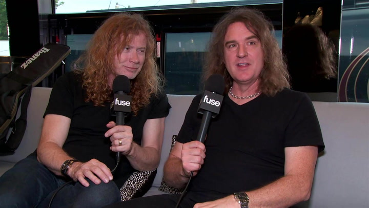 Megadeth Reveal Life Changing Words From Alice Cooper: Famous Advice