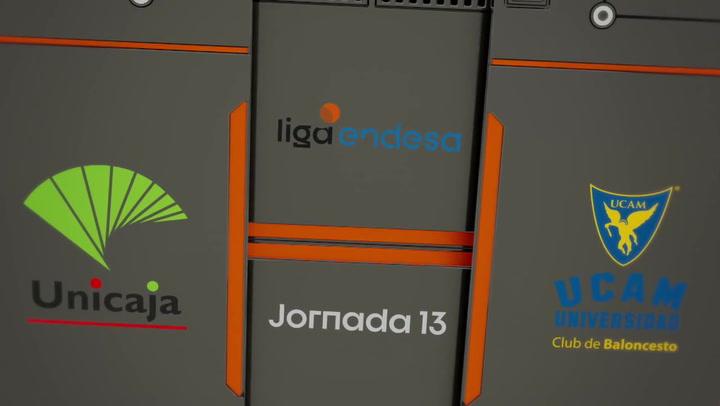 Unicaja - UCAM Murcia (102-81)