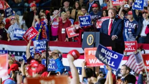 Trump a medios: son el