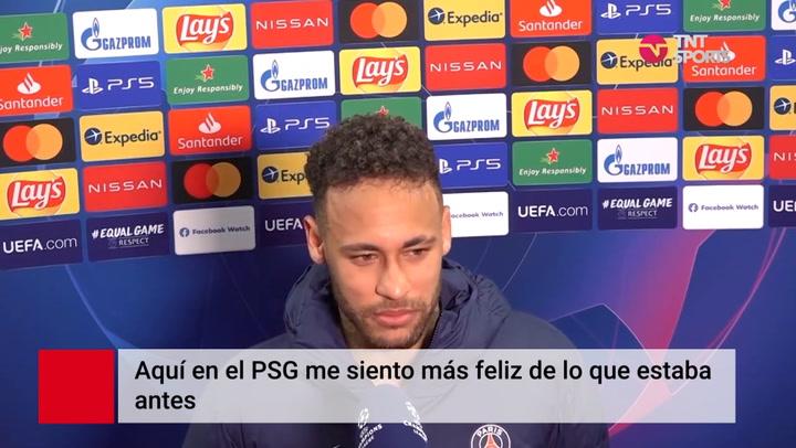 """Neymar, sobre su renovación """"Ya no es tema, me siento más feliz que antes"""""""
