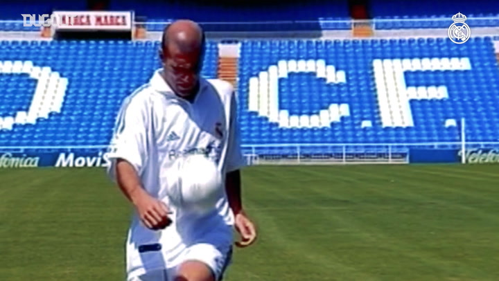 Zinedine Zidane's great goals with Real Madrid