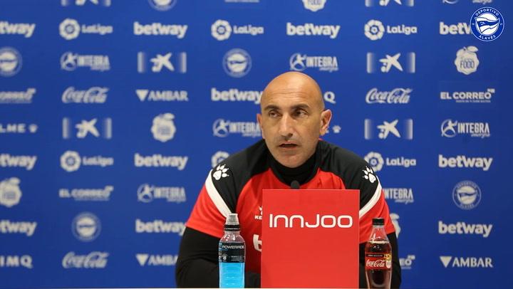 """Abelardo: """"Empezamos una liguilla de diez partidos y dependemos de nosotros"""""""