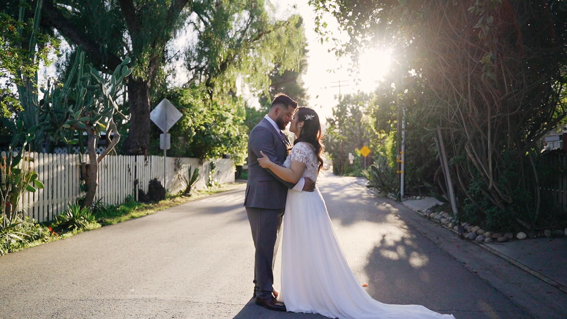 Helen + Jose | San Juan Capistrano, California | Franciscan Gardens