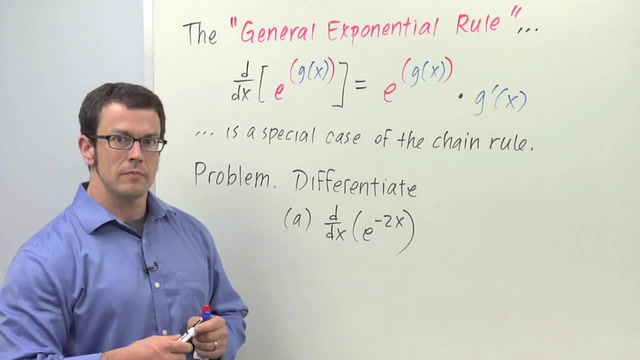 Chain Rule: The General Exponential Rule - Problem 1