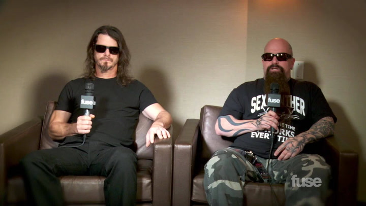 Interviews: Slayer on Recording New Album, Rick Rubin Snub
